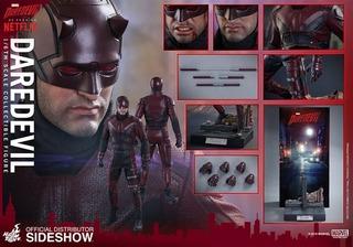 Hot Toys Demolidor Daredevil Netflix Marvel Vingadores Novo