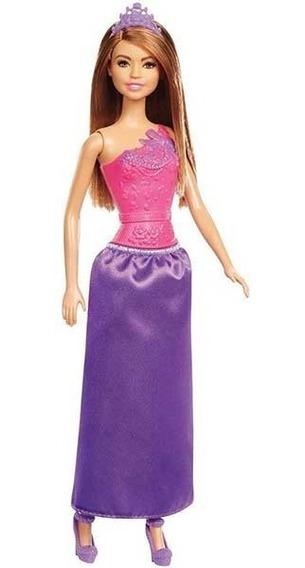 Boneca Barbie Princesa Morena Dmm06 Nova Embalagem 2018