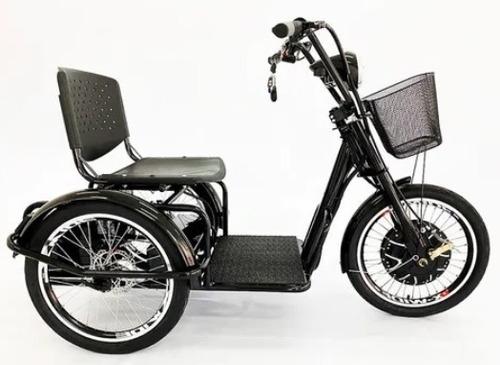 Imagem 1 de 6 de Triciclo Elétrico 800w Duos