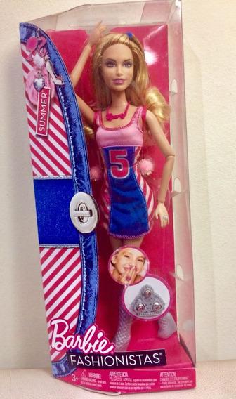 Barbie Fashionistas Summer 2011 Com Anel Articulada