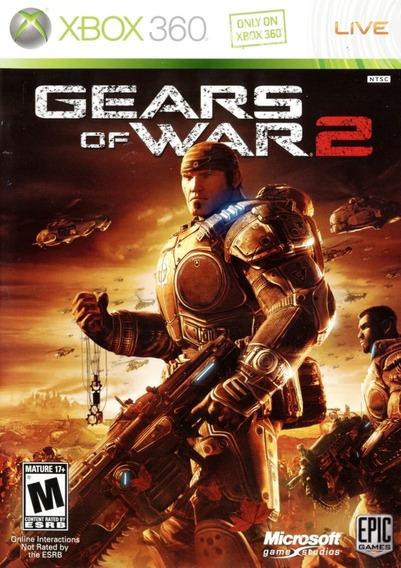 Gears Of War 2 (xbox 360) Mídia Digital 25 Dígitos
