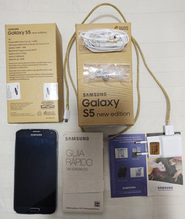 Samsung Galaxy S5 New Edition 4g - Duos - Tela 5.1 - Preto