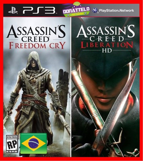 Assassins Creed Freedom Cry E Liberation Ps3 Psn Dublado