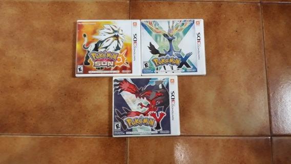 Jogos Pokémon Para Nintendo 3ds 100%