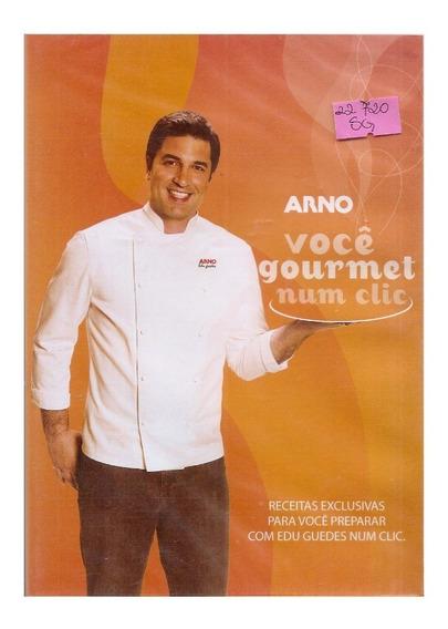 Dvd Arno Você Gourmet Num Clic - Edu Guedes