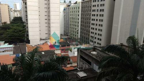 Imagem 1 de 15 de Apart Hotel Em Copacabana, Com Vaga De Garagem E Total  Infra Estrutura! - Cpap10066