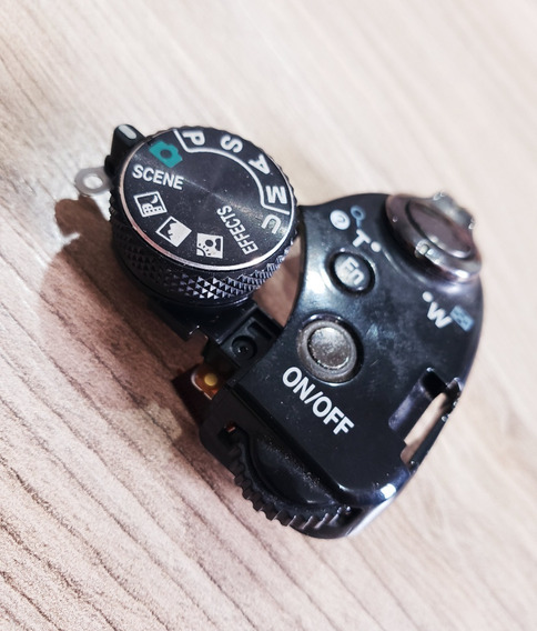 Flex Do Botão Power + Botão Funções Da Camera Nikon P510
