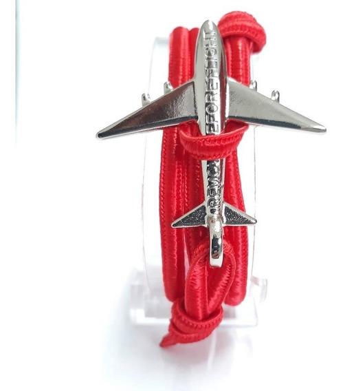 Brazalete Flat Red Silver - Remove Before Flight®