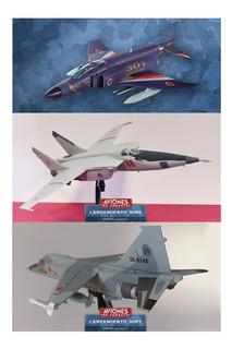 Aviones De Combate, Te Llevas 3 Modelos: #17, #26 Y #27