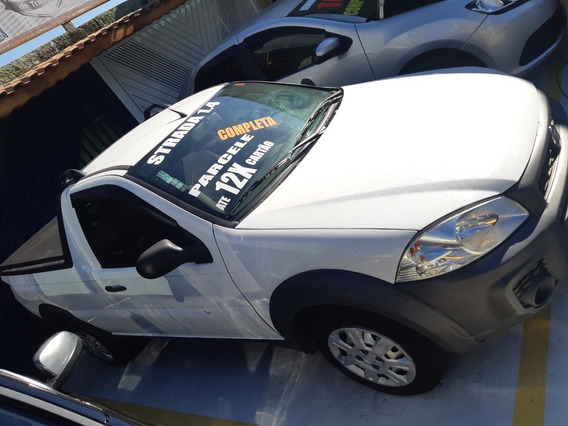 Fiat Strada Working 1.4 Flex 2015 Branco