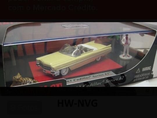 Miniatura Jada Scarface 1963 Cadillac Al Pacino