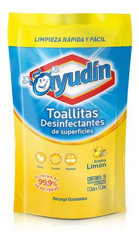Ayudin Toallitas Desinfectantes Doy Pack Limon
