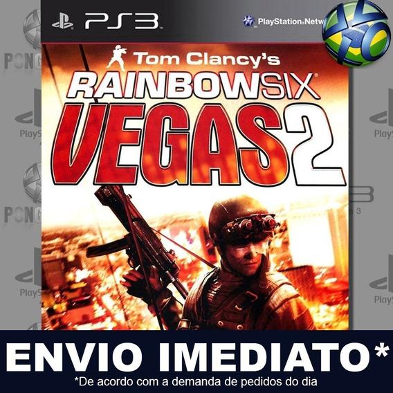 Tom Clancys Rainbow Six Vegas 2 Ps3 Psn Jogo Promoção Play 3