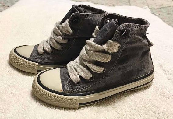 Zapatillas Botitas Niño Zara Camufladas Talle 25 Tp All Star