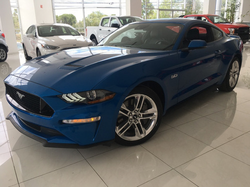 Ford Mustang Gt Negro At 5.0l  2020