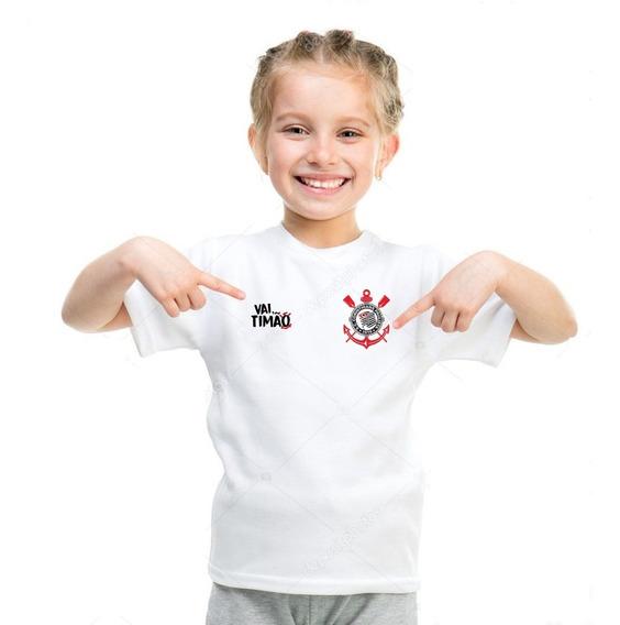 Camisa Camiseta Personalizada Corinthians Timão ( + Nome )