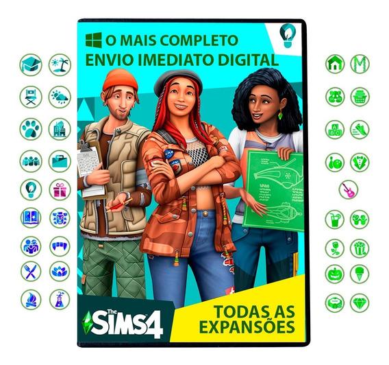 The Sims 4 Pc Digital + Tudo O Que Foi Lançado Até Hoje 2020