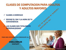 Clases De Computacion Para Adultos