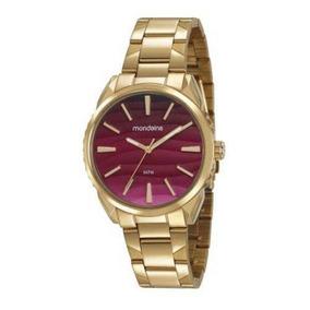 Relógio Mondaine Feminino 53716lpmvde1 Dourado + Nfe