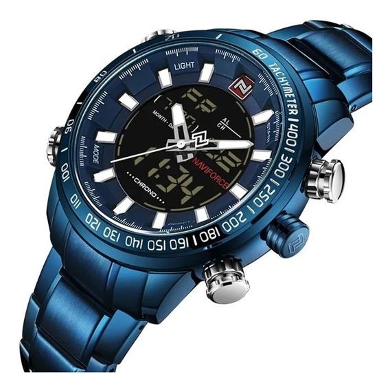 Relógio Masculino Original Naviforce Importado De Luxo Top