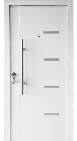 Puerta De Seguridad Brandsen - Modelo Londres - 960mm X 2050mm X 70mm