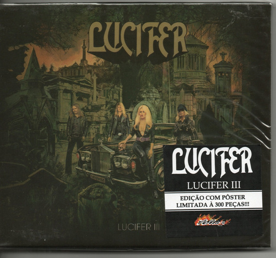 Cd Lucifer - Lucifer 3 Slipcase C/poster Nacional