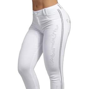 Calça Pit Bull Pitbull Pit Bul Jeans Original Branca 27916