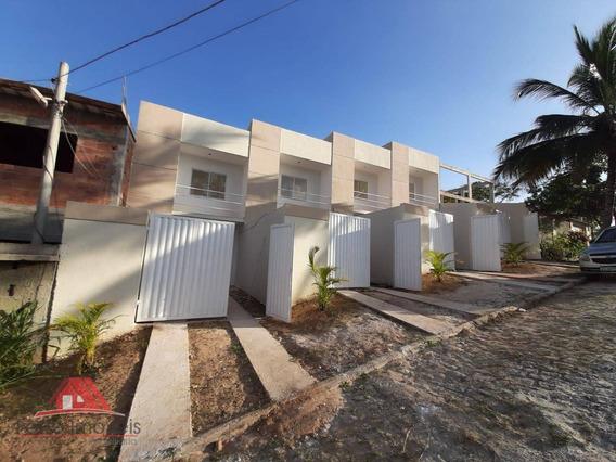 Excelente Casa Duplex C/ 2 Dormitórios Cg/rj - Ca0356