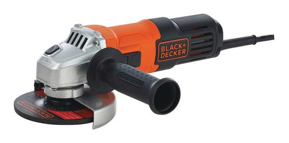 Esmerilhadeira angular Black+Decker G650 de 60Hz laranja 220V