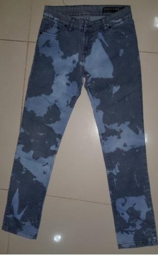 Jeans Maria Cher Talle 24 Rigido