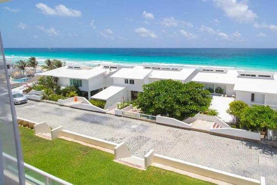 Departamento Penthouse En Venta En Cancun, Precio En Dolares De 3 Recamaras, Zona Hotelera Km 19