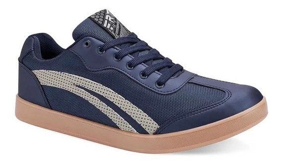 Tenis De Sneaker Azul Marino And 2721385 E-20