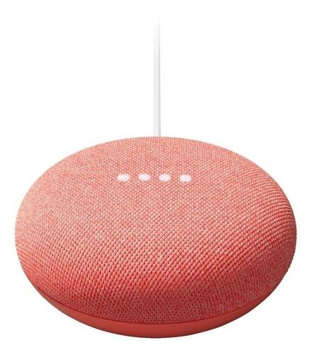 Imagen 1 de 3 de Google Nest Mini 2nd Gen con asistente virtual Google Assistant coral 110V/220V