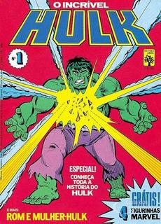 O Incrível Hulk N° 1 - Abril - Excelente Estado
