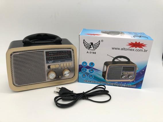 Rádio Am/fm - Retro - A 3188
