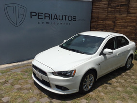 Mitsubishi Lancer Es Cvt 2015 Blanco Credito