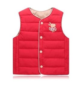 Chaleco Canguro Niño/niña, Marca Kangaroo, Mod Rojo