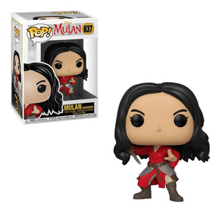 Funko Pop! Disney #637 Mulan Live Mulan Warrior