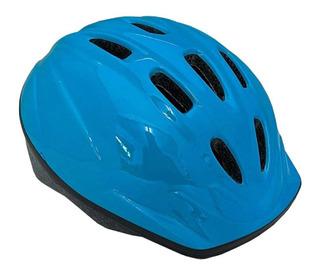 Capacete Infantil Kidzamo Azul 52-56 Bike Bicicleta M