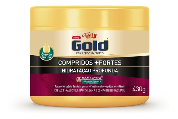 Niely Gold Hidratação Profunda Compridos + Fortes