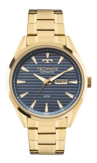 Relógio Masculino Technos Dourado 8205nx4b