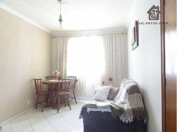 Apartamento Residencial À Venda, Fundação Da Casa Popular, Campinas. - Ap0851