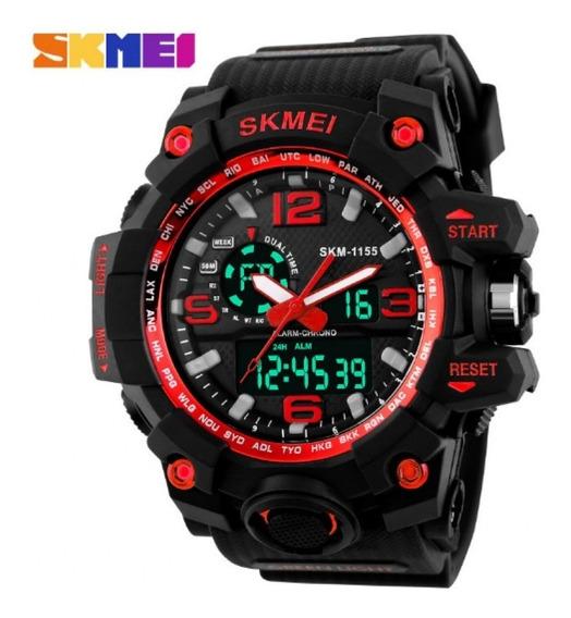 Relógio Militar Skmei S-shock Analógico Digital Prova D