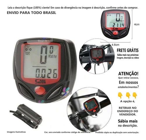 Imagem 1 de 1 de Marcado De Velocímetro Digital Odômetro Bike Bicicleta A@