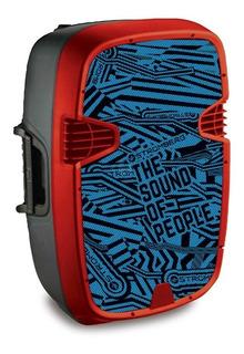 Parlante Portatil Stromberg Flexy 15 100wts Luces Bluetooth