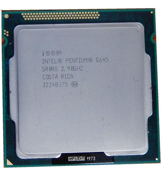 Processador Intel Dual Core G645 Soquete 1155 / 2.90 Ghz
