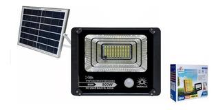 Reflector Panel Solar Led 80w Exterior Ip66, Control Remoto