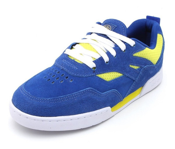 Tênis Hocks Skate Vita Azul Royal Yellow Sneaker Original
