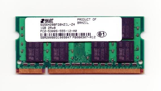 Memória Smart Hp Dell 1gb 667mhz Ddr2 Pc2-5300s-555-12-a0