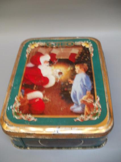 Lata Antigua Galletitas Oreo Navidad 1998 Zona Caballito